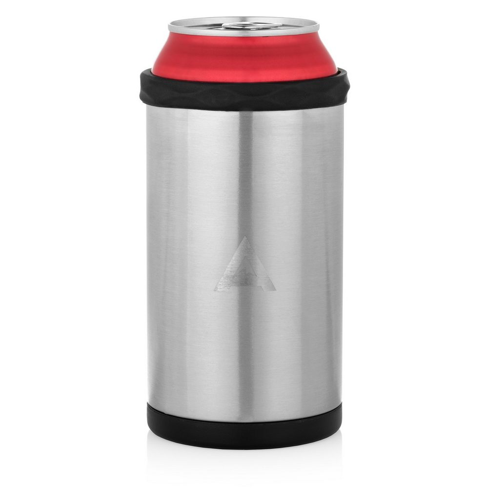 Stainless Steel Can Cooler ~ Arctican stainless steel can cooler silver stubby