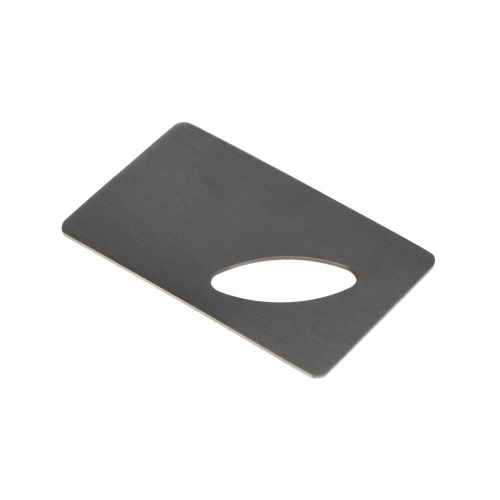 credit card bottle opener stainless wallet bar tool ebay. Black Bedroom Furniture Sets. Home Design Ideas