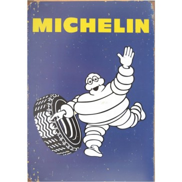 Michelin Tyres Tin Sign