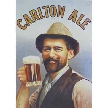 Carlton Ale Tin Sign