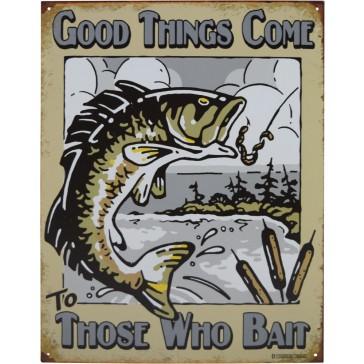 Tin Sign - Those Who Bait