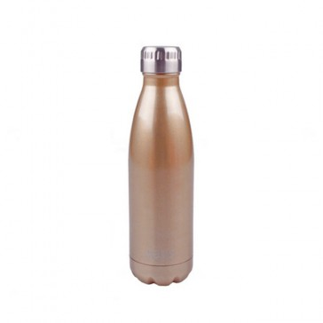 Stainless Steel Insulated Drink Bottle 500ml - Champagne