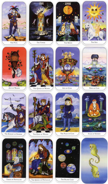 The Watersprite Tarot Cards