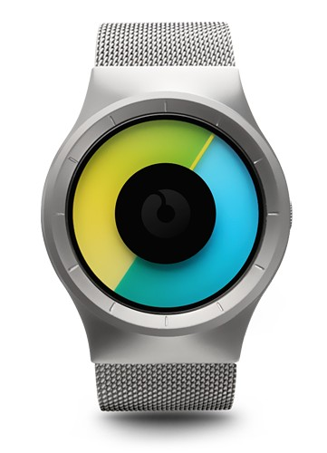 Ziiiro Celeste Watch | Chrome - Coloured