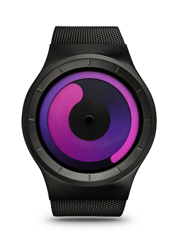 Ziiiro Mercury Watch | Black - Purple