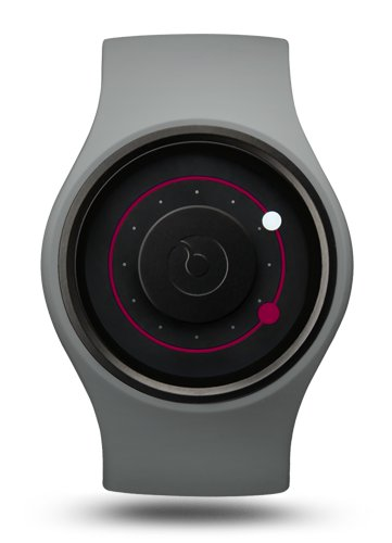 Ziiiro Orbit Watch | Grey - Magenta