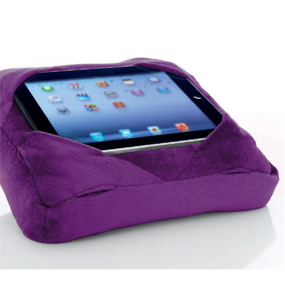 Six Pad Go Go Pillow Ipad Tablet Cushion Book Rest Purple