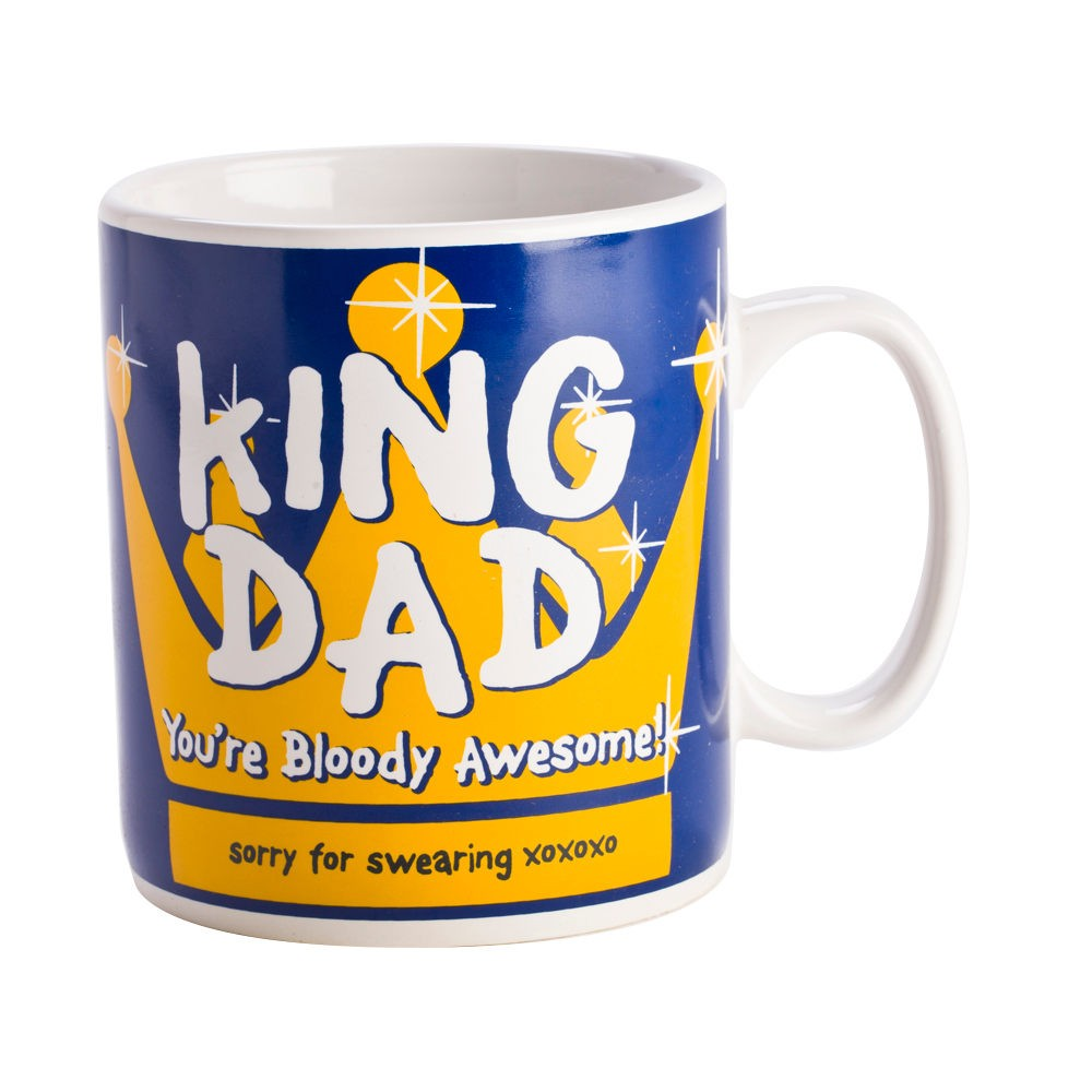King Dad You're Bloody Awesome Giant Coffee Mug