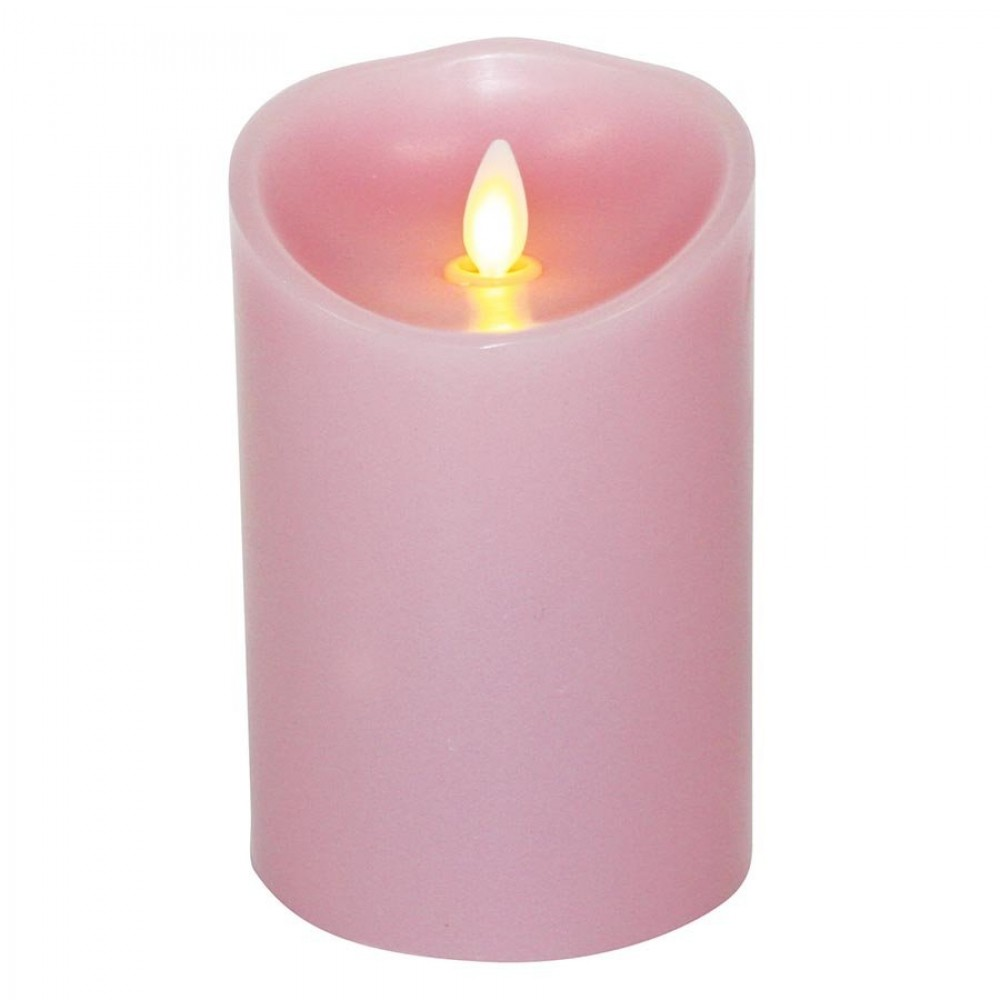Luminara Candle Flameless Led 3 5 X 5 Quot Jasmine Pink