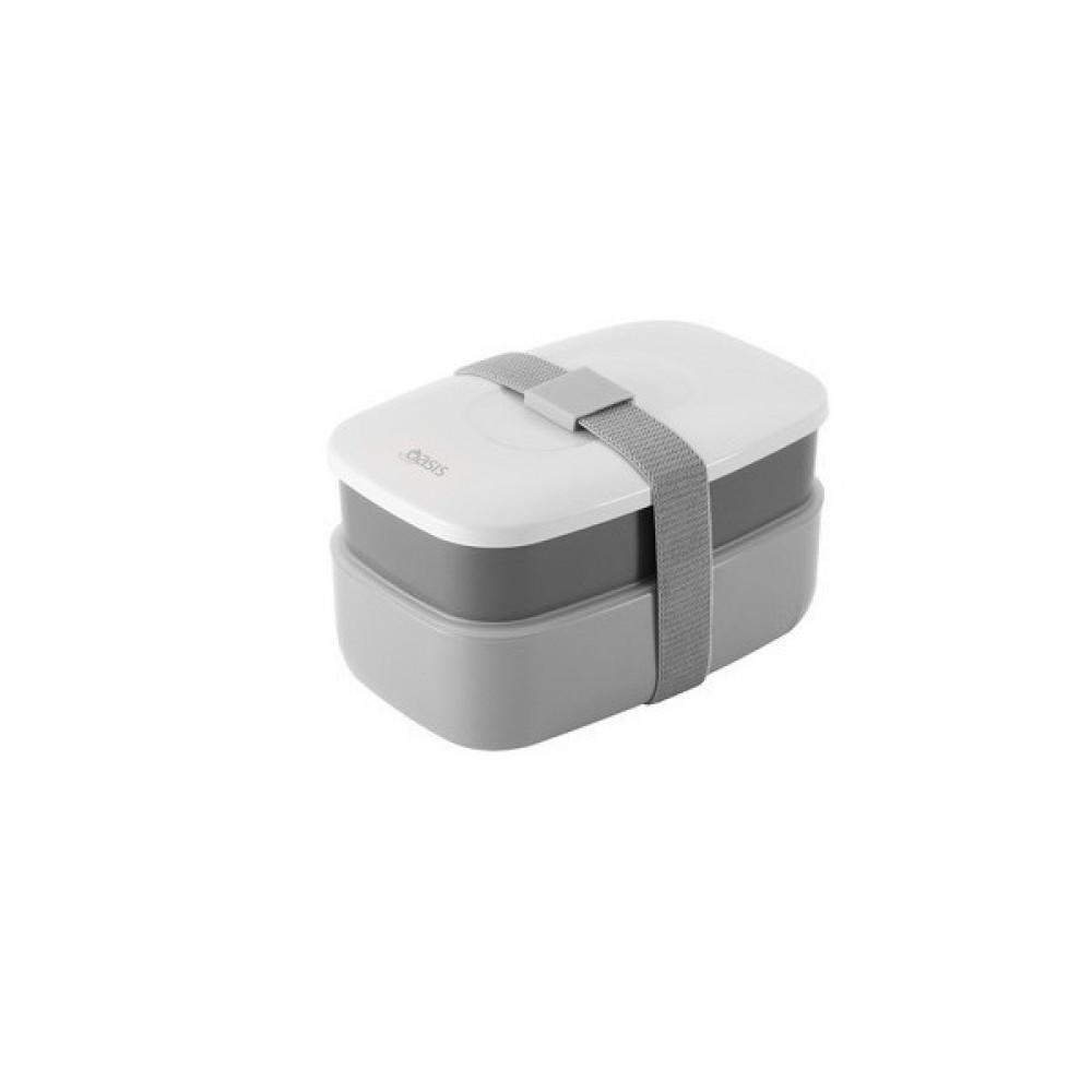 oasis bento lunch box grey. Black Bedroom Furniture Sets. Home Design Ideas