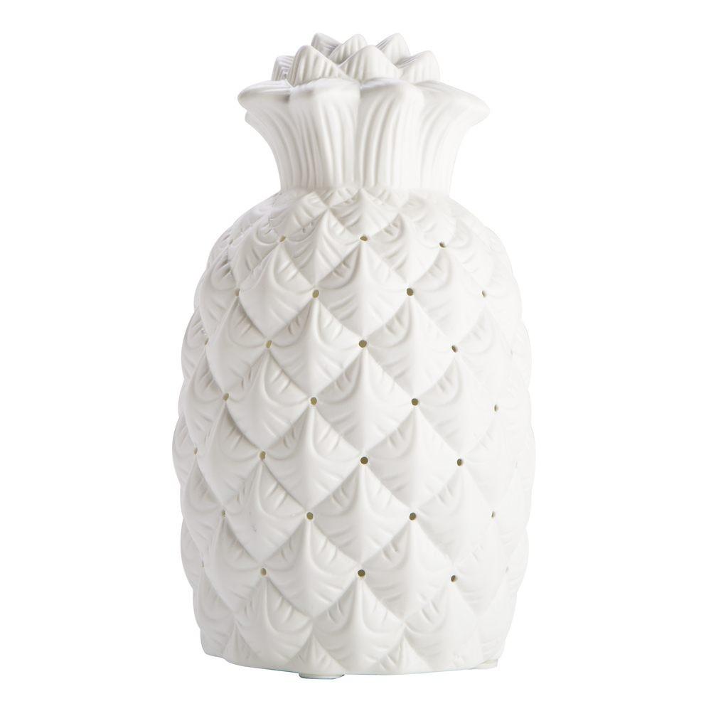 Pineapple Ceramic Lamp