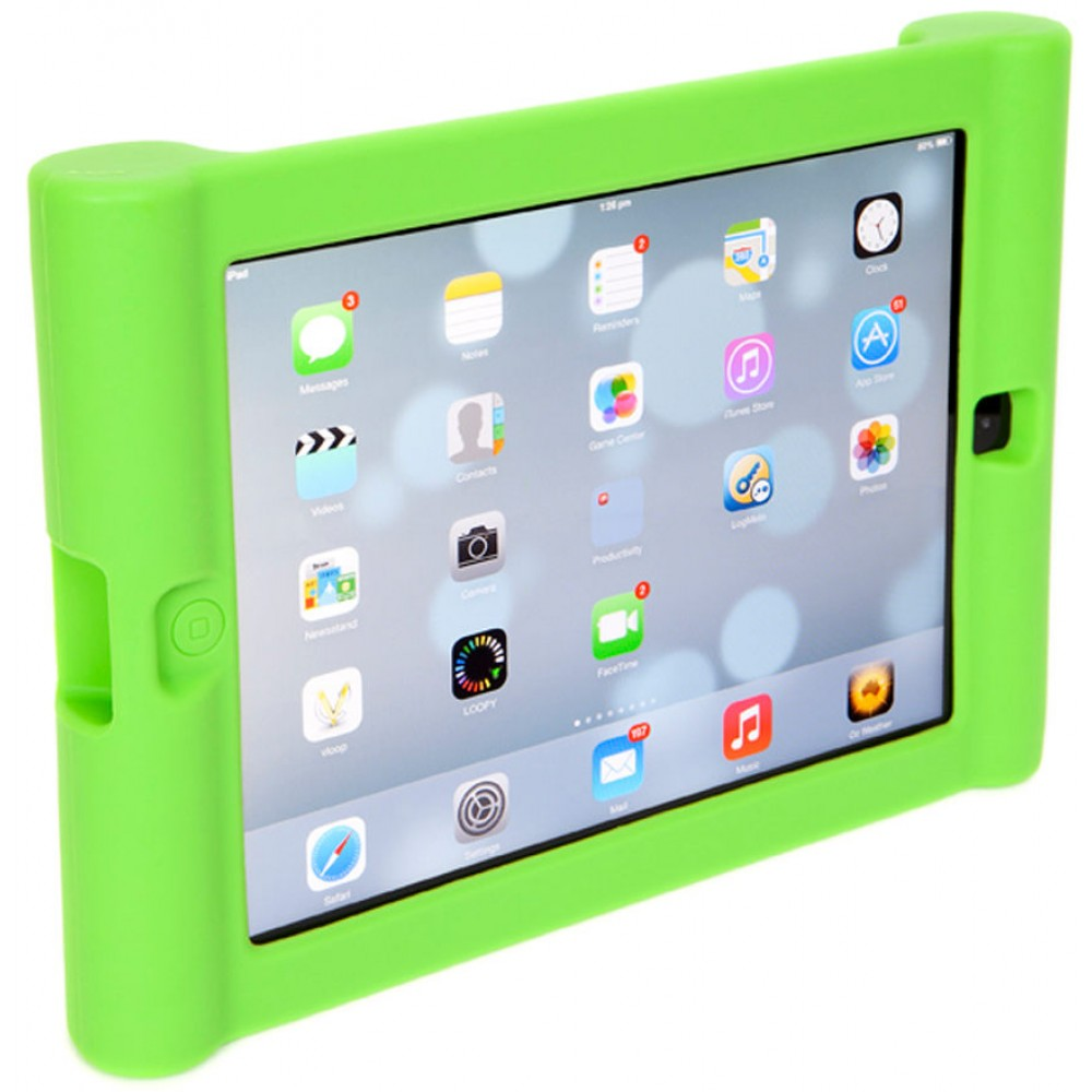 Silicone Ipad Case For Kids To Suit Ipad Mini Green