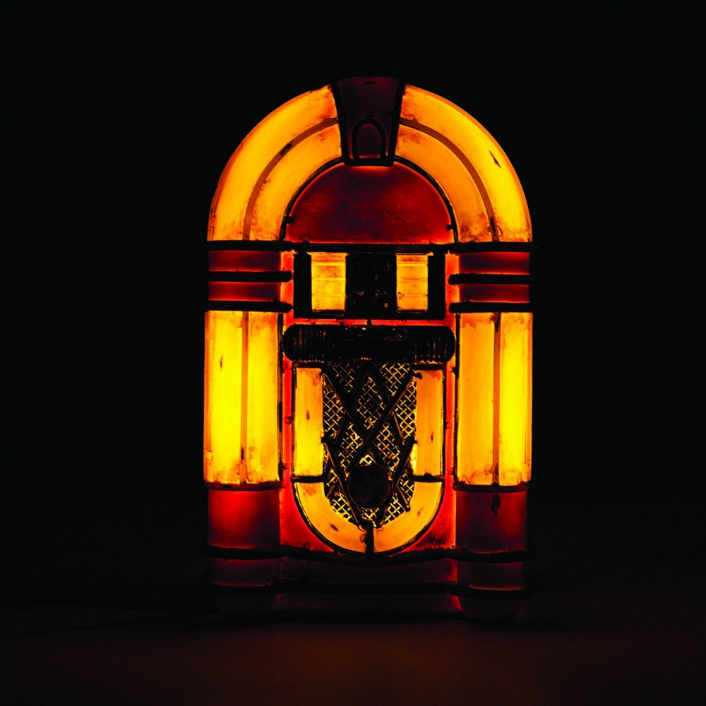 Vintage Jukebox Table Lamp