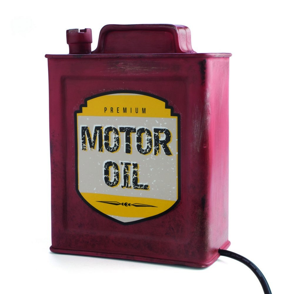 Motor oil table lamp vintage motor oil table lamp aloadofball Image collections