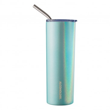 Alcoholder SKNY Insulated Holographic Vacuum Insulated Slim Tumbler