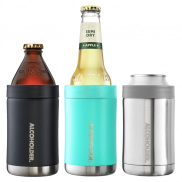 StubZero Stainless Insulated Can & Bottle Cooler