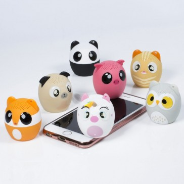 Animal Speakers - Bluetooth Speaker with Inbuilt Selfie Remote