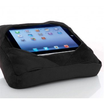 Six-Pad Go-Go Pillow iPad Tablet Cushion Book Rest - Black