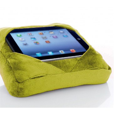 Six-Pad Go-Go Pillow iPad Tablet Cushion Book Rest - Lime