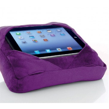 Six-Pad Go-Go Pillow iPad Tablet Cushion Book Rest - Purple