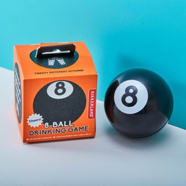 8 - Ball Drinking Game - 20 Actions Magic 8 Ball