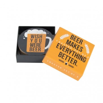 Beer Makes Everything Better Beer Coasters