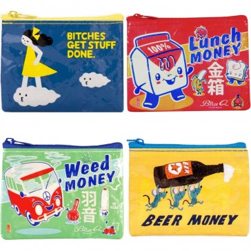 Blue Q Coin Purse Collection
