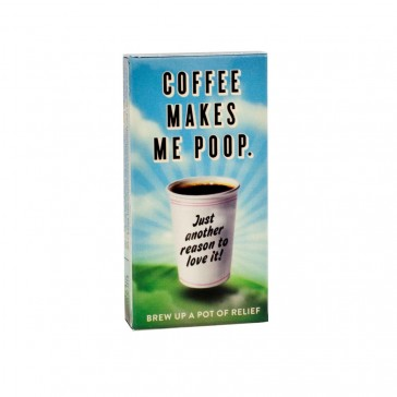 Coffee Makes Me Poop Chewing Gum