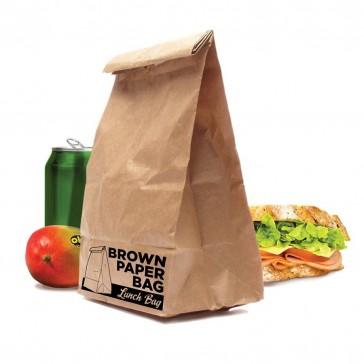 Brown Paper Bag Lunch Bag