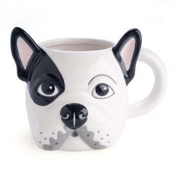 Bulldog 3D Animal Mug