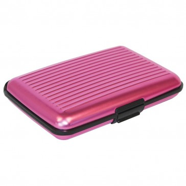 CardSafe Card Case RFID Blocking Wallet - Pink