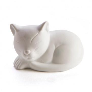 Cat LED Night Light - Ceramic