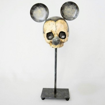 Mouse Skull Ornament