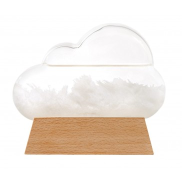 Cloud-Shaped Weather Station