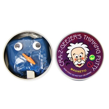 Cra-Z-Geezers Magnetic Thinking Putty - Blue