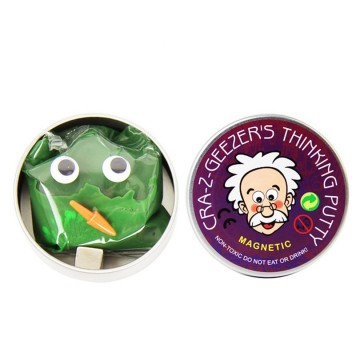 Cra-Z-Geezers Magnetic Thinking Putty - Green