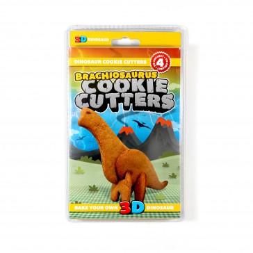 3D Dinosaur Cookie Cutters Brachiosaurus