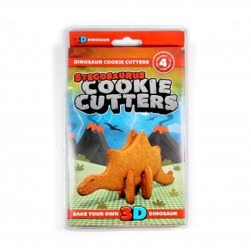 3D Dinosaur Cookie Cutters Stegosaurus