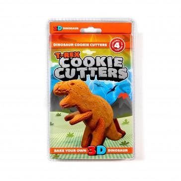 3D Dinosaur Cookie Cutters T-Rex