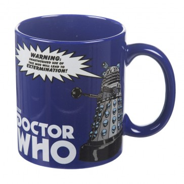 Doctor Who Dalek Blue Mug