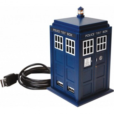 Doctor Who Tardis USB Hub - 11th Series