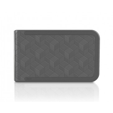 DOSH Wallet Embossed - Cubic Grey