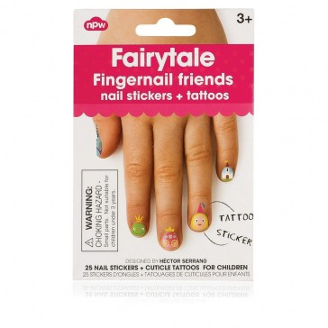 Fairytale Fingernail Stickers + Tattoos