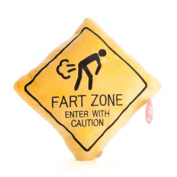 Fart Zone Cushion - Enter with Caution