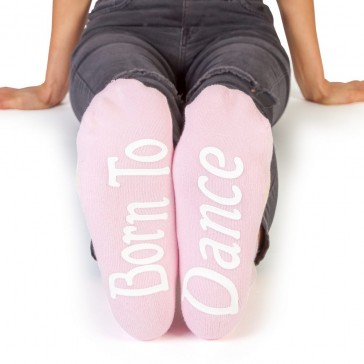 Feet Speak Born to Dance Socks