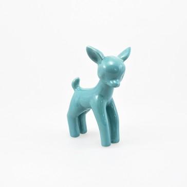 Flossie Porcelain Deer Blue
