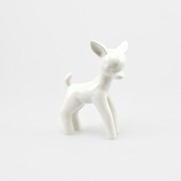 Flossie Porcelain Deer White