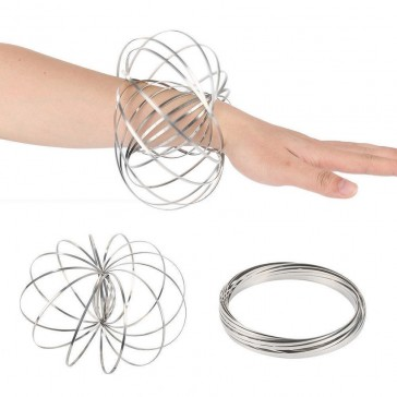 Flow Rings Kinetic Spring Toy