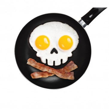 Funny Side Up Egg Shaper - Skull
