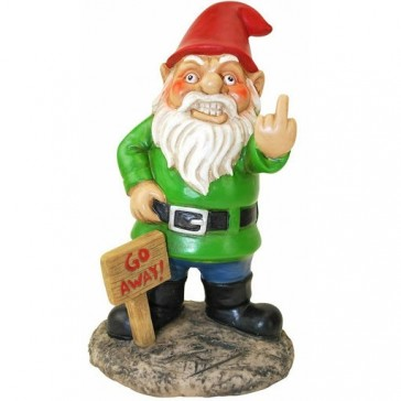 Go Away Garden Gnome